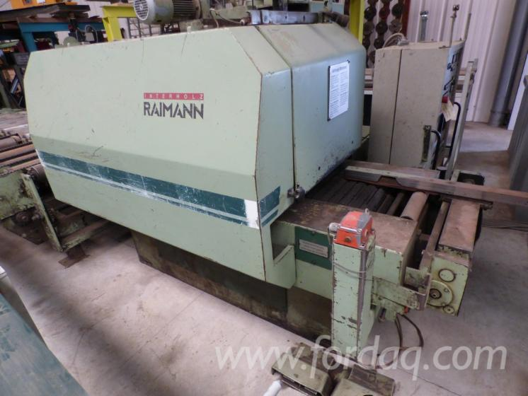 Log-Conversion-And-Resawing-Machines---Other-RAIMANN-KR310E-%E6%97%A7