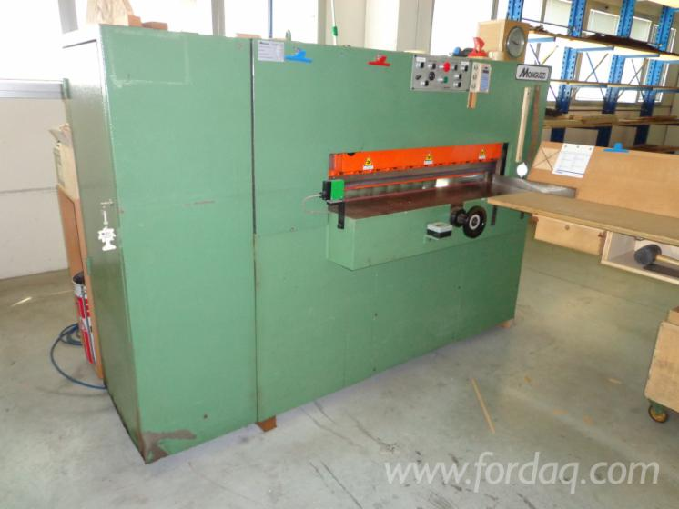 Hydraulic-veneer-guillotine-MONGUZZI-model-TRA1200