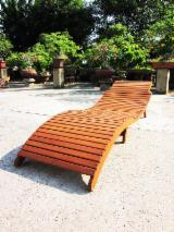 Garden Furniture - Folding Garden Sun Lounger