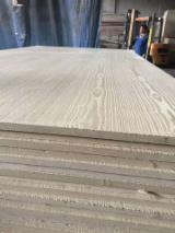 Engineered Panels China - Both Sides Embossed Ash MDF Board, 2.5-25 mm thick
