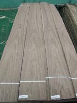 Sliced Veneer For Sale - C/C & Q/C EV Natural Black Walnut Veneer, 0.45-1.0 mm thick
