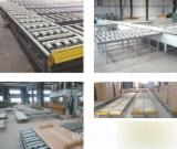 Woodworking Machinery Storage System - Rail Trolly, Conveyors