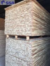 Kupnje I Prodaje Rubom Lijepljene Drvene Ploče - Fordaq - 1 Slojni Panel Od Punog Drveta, Bagrem
