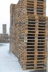 Pallets, Packaging and Packaging Timber - Used Solid Epal Pallet 1st & 2nd Grade, 144 x 800 x 1200 mm
