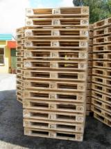 Pallets – Packaging - New Solid Epal Pallet 1st & 2nd Grade, 144 x 800 x 1200 mm