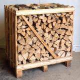 Firewood, Pellets and Residues - Beech; Oak; Ash; Hornbeam Firewood Slpit 25; 30-33; 50cm
