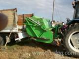 Greece Woodworking Machinery - Biomass cutter and collector, Peruzzo Canguro Professional 1800
