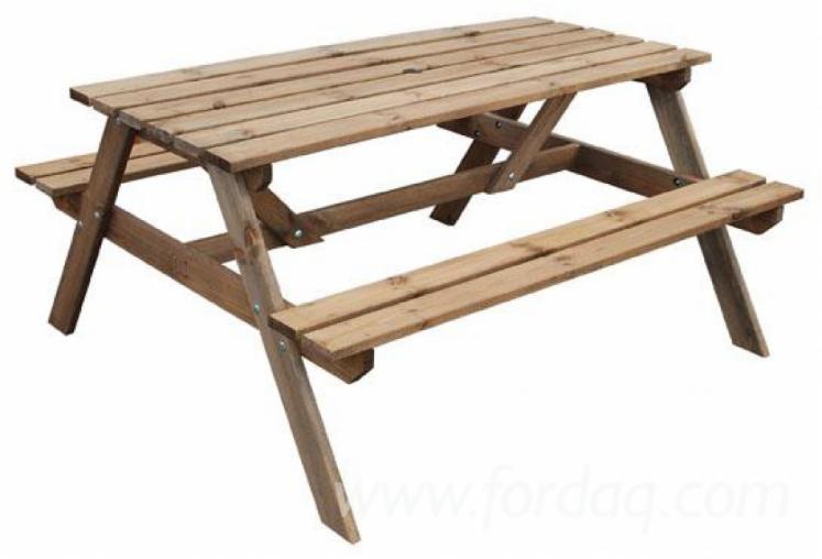 Pine-Picnic-Garden-Benches