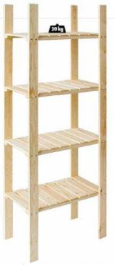 FSC Certified Kitchen Furniture - Pine - Redwood Shelving unit, FSC