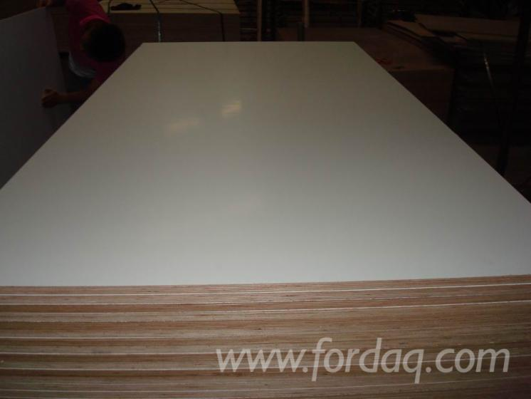 Paper Faced Plywood ~ Melamine paper faced plywood with e glue