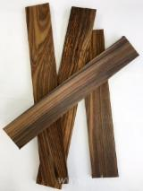 Hardwood Lumber And Sawn Timber - Sonokeling (Palisander) Strips, KD, 10; 12 mm thick