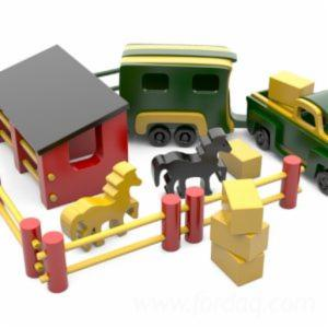 Wooden Toys for Children and Adults
