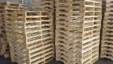 Wood Pallets - New Pallets for Sale, 135-145 x 800-1000 x 1200 mm