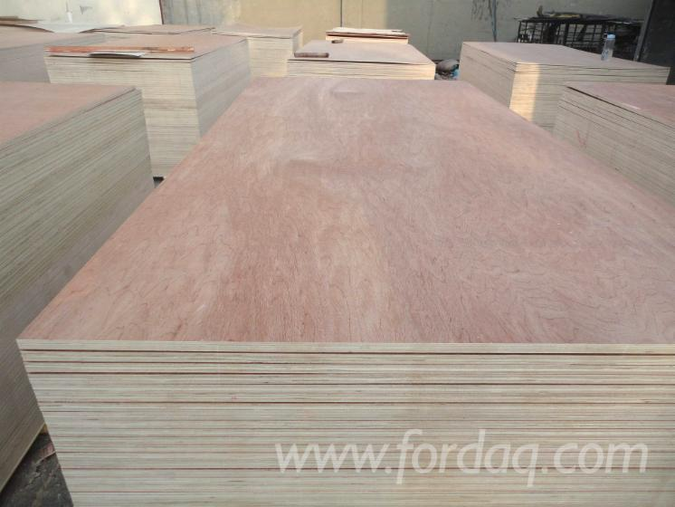 Bintangor-Natural-Plywood--Two-times-hot-pressed--Poplar-Core