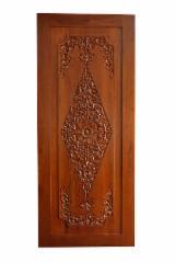 Asya Ilıman Sert Ağaç, Kapılar, Solid Wood, Tik