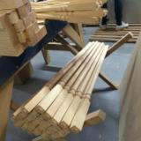 Oak Wood Components - We produce the legs of the table with thread, screw milling. Can be painted according to your sample