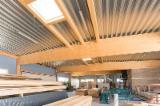 胶合层积材―直型梁, 云杉-白色木材