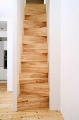 Drzwi, Okna, Schody Na Sprzedaż - Europejskie Drewno Iglaste, Schody, Drewno Lite, Sosna Zwyczajna  - Redwood, Świerk  - Whitewood