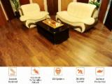 Engineered Wood Flooring - Multilayered Wood Flooring - Far Infrared Walnut Engineered Wood Flooring, PEFC/FFC, 12 mm thick