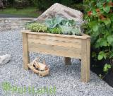 Buy Or Sell Wood Flower Pot - Planter - Wooden Planter - Made-to-order Planters