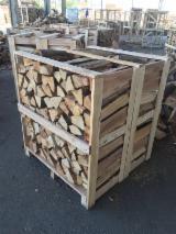 null - Bois de chauffage de chêne / hêtre - séché