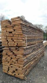 Softwood  Unedged Timber - Flitches - Boules For Sale - Pine - Redwood Loose Planks, 25; 32; 40; 50 mm thick