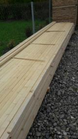 Softwood  Sawn Timber - Lumber Beams - Spruce Beams, 25x50; 40x50, 40x60 mm