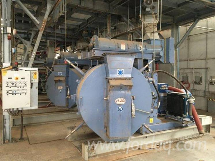 Impianto di a pellet beautiful easypellet with impianto for Impianto produzione pellet usato