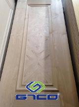 China Mouldings, Profiled Timber - Ash Door Skin, 3 mm thick