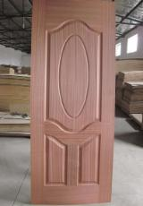 China Mouldings, Profiled Timber - Natural wood veneer HDF Door Skin