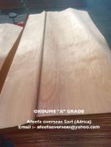 Furnir din derulaj Okoumé - Vand Furnir tehnic Okoumé  Derulat in Libreville