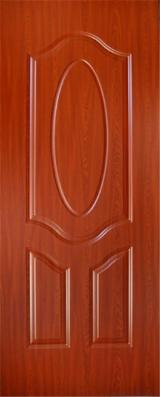 China Mouldings, Profiled Timber - Melamine HDF Door Skin, 915 x 2135 x 3 mm