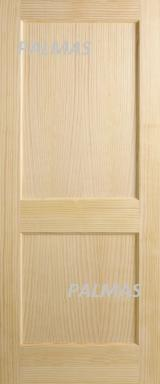 null - Vertical Grain Clear Pine Doors , Flat Panel Interior Doors