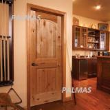 Knotty Alder Interior Door, Raised Panel
