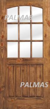 Doors, Windows, Stairs China - Pine Exterior Doors Details