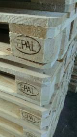 Poland Pallets And Packaging - New Euro Pallets Epal, 144 x 800 x 1200 mm