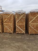 FSC Firewood/Woodlogs Cleaved from Romania - Beech AD Firewood Cleaved, 25, 40 cm long