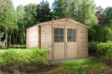 Maisons Bois à vendre en Lithuanie - Vend Abri De Jardin Pin  - Bois Rouge, Epicéa  - Bois Blancs Résineux Européens 7,64 m2 (sqm)