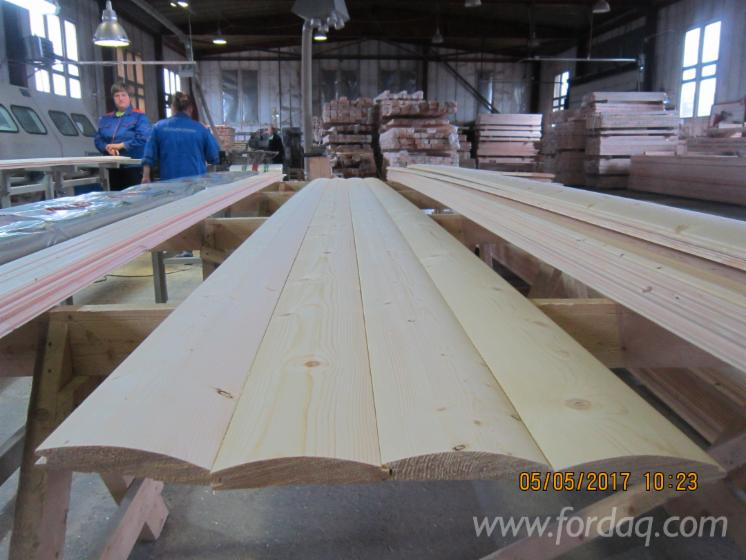 Pine/Spruce Exterior Cladding, 18; 28 mm thick