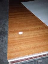 Melamine paper faced plywood with E0 glue Eucalyptus core