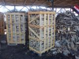 Leña de madera dura