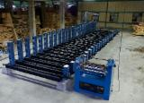 Glulam Press - Curved glulam timber press with hydraulic system