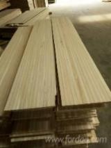 Edge Glued Panels Glued Discontinuous Stave  For Sale - Paulownia Edge Glued Board for Surfboard, 3-75 mm thick