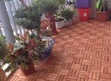 Gartenprodukte - Robinie , Gartenholzfliesen
