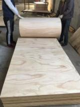 Hardwood Core Flexible Plywood, 3.6-7.5 mm thick