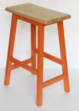 Dining Room Furniture - Contemporary Rubberwood Stools