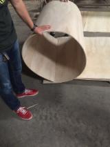 柔性胶合板, 泡桐