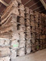 毛边材-圆木剁, 橡木, 白色灰, 榉木
