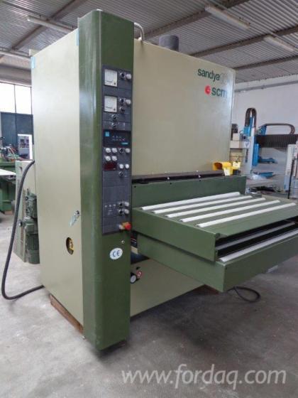 Gebraucht-SCM-SANDYA-10-RRCS-110-1999-Schleifmaschinen-Mit-Schleifband-Zu-Verkaufen