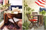 Art & Crafts/Mission Garden Furniture - Acacia Garden tables and chairs